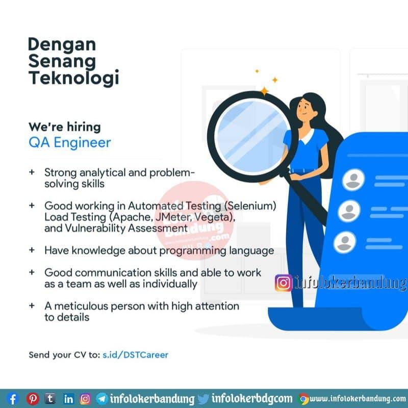 Lowongan Kerja Dengan Senang Teknologi Bandung Januari 2021