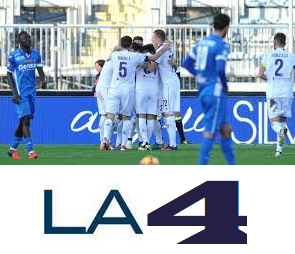 La 4 Italia New Frequency On Express AM44 11.0°W