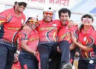 bharat jadhav Cricket Team