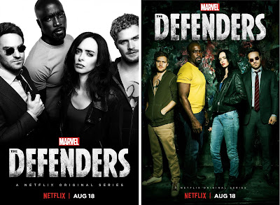 Marvel's The Defenders Television Series Teaser Posters
