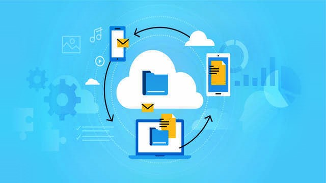 How does cloud hosting service works?