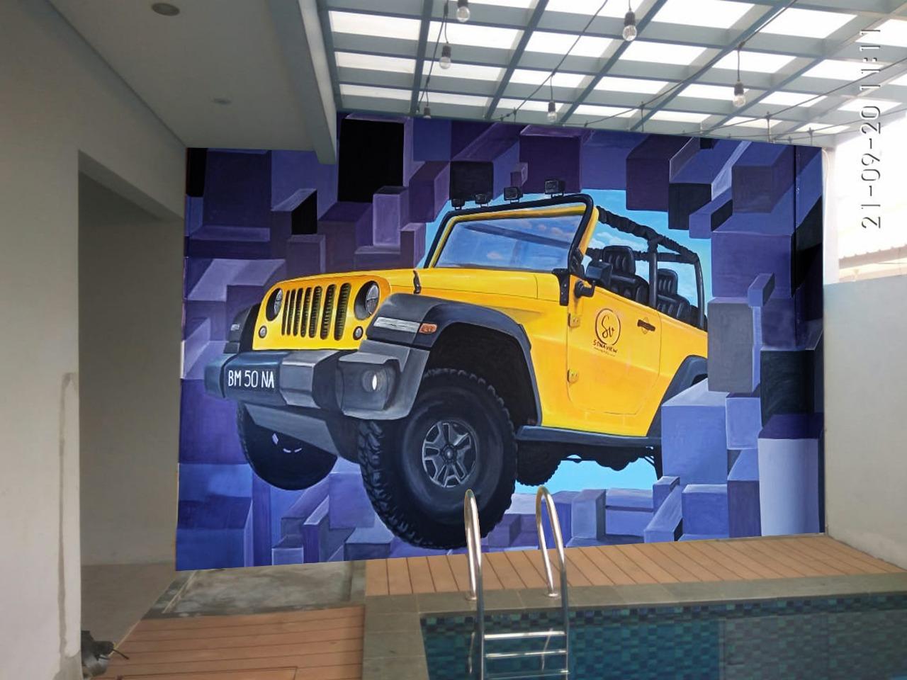Design Mural 3d