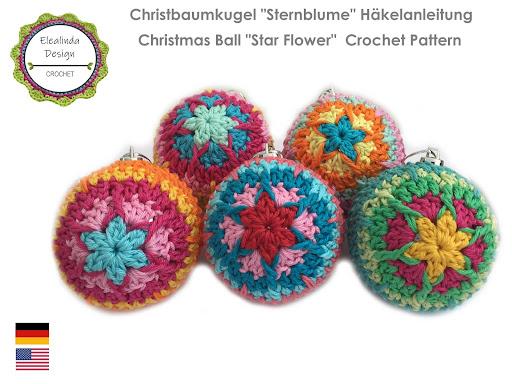 Ebook Christbaumkugeln Sternblume