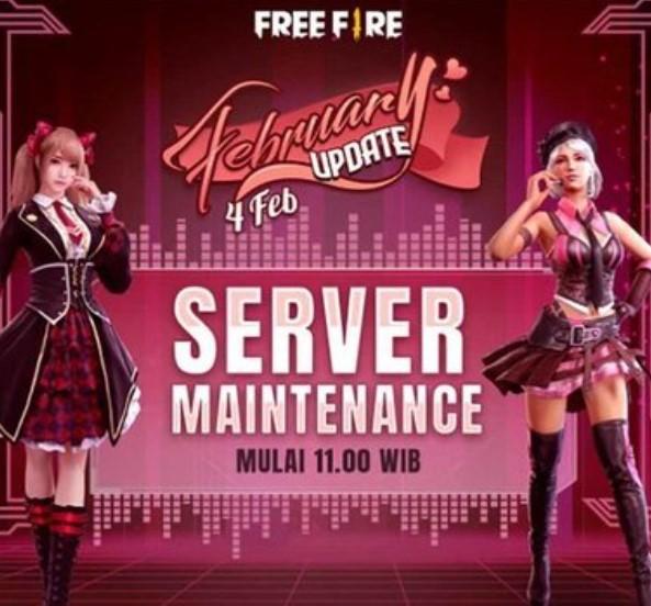 Jam Berapa Selesai Maintenance Free Fire 4 Februari 2021