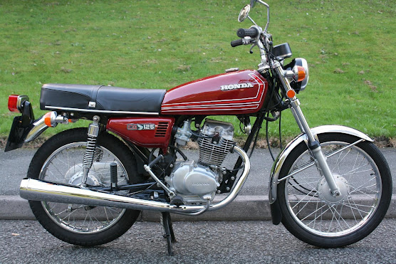 Honda CG125 blog , How to clean , detail your Cg 125