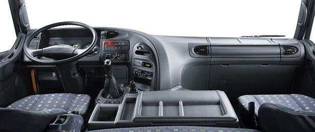nội thất xe hyundai hd1000