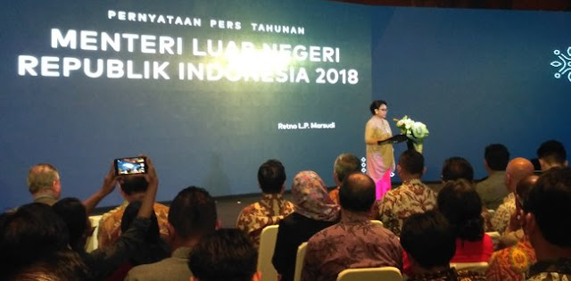 Menlu Retno: Jakarta Sudah Menjadi Ibukota ASEAN