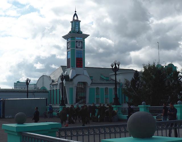 Станция Новосибирск-Главный, пригородный вокзал