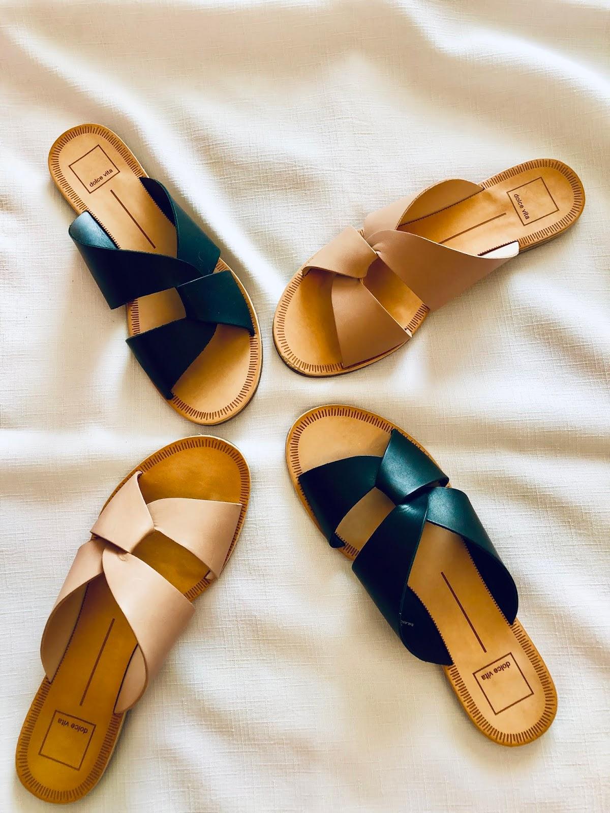 black sandals, dolce vita derby sandals, dolce vita haul, dolce vita shoes, dsw, dsw shoe haul, pink sandals, sandals, what to wear for summer,