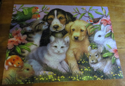 puzzle of animal pets