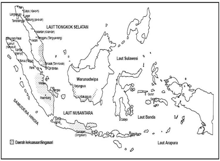 Download Gambar Mewarnai Peta Indonesia
