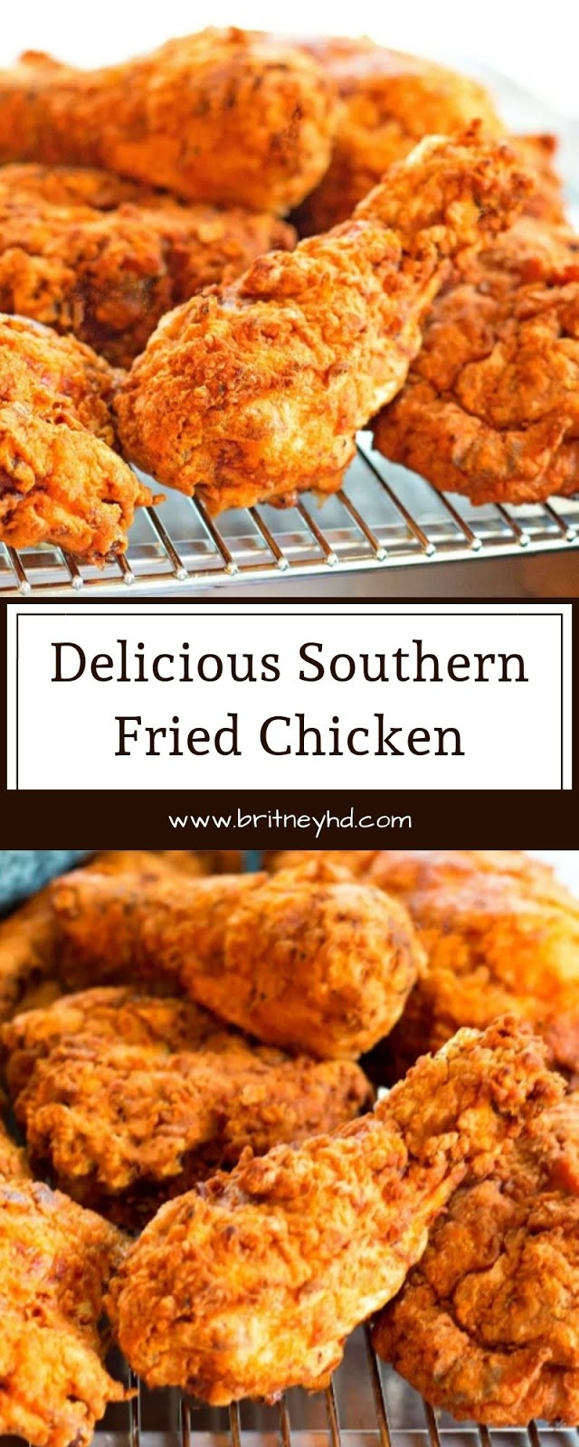 Delicious Southern Fried Chicken