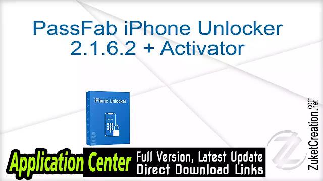 PassFab iPhone Unlocker 2.1.6.2 + Activator