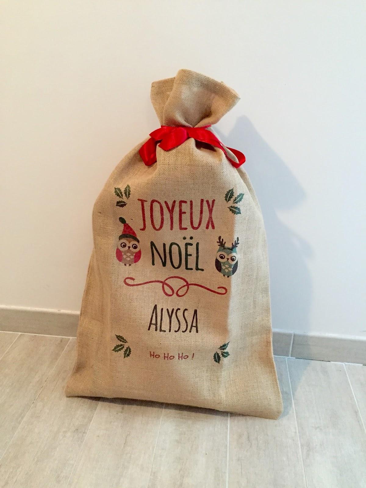 Favori Le sac de Noël personnalisé avec A-Qui-S - Dans la peau d'une fille DQ64