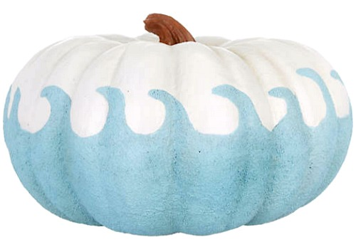 Artificial Beach Wave Pumpkin