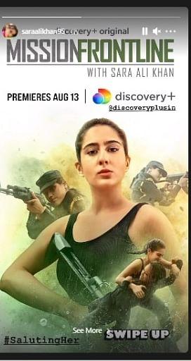 Mission Frontline with Sara Ali Khan (2021) S01E01 Dual Audio Hindi ORG 720p HDRip 350MB