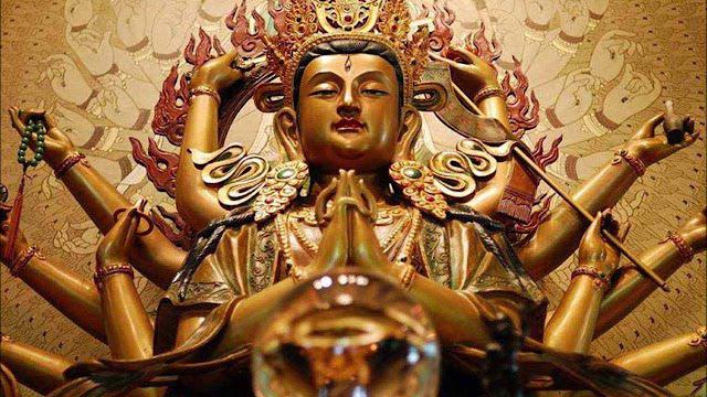 Thần chú Phật Mẫu Chuẩn Đề – Om Cale Cule Cunde Svaha
