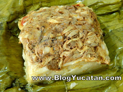 Tamal colado Yucatan