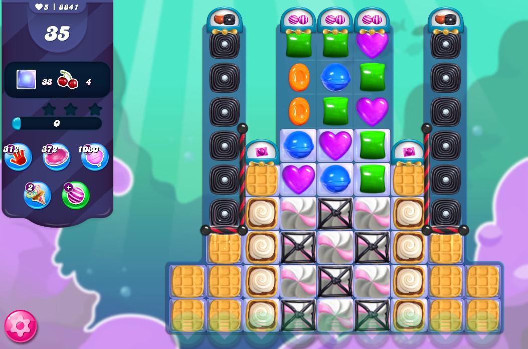 Candy Crush Saga level 8841