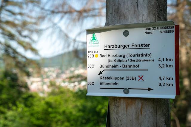 Kästeklippentour und Sonnenuntergang im Harz | Wandern in Bad Harzburg 07