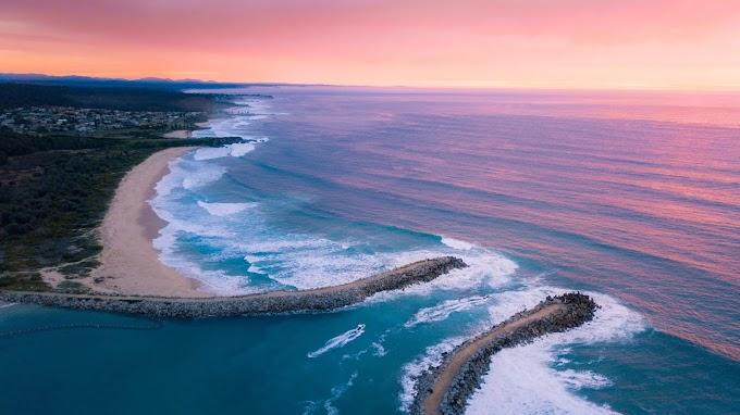 Vista Linda do Oceano