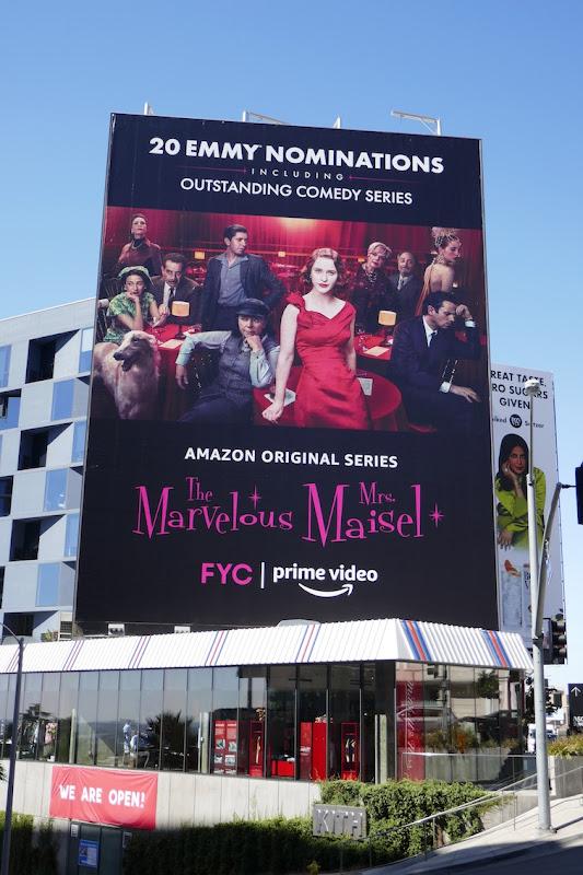 Mrs Maisel 2020 Emmy nominations billboard