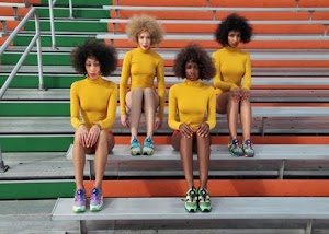 Solange (a irmã da Beyoncé) aparece lindona para a nova coleção de tênis da Puma, garanta o seu!