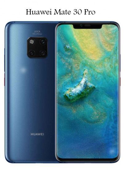 سعر ومواصفات موبايل هواوي ميت 30 برو Huawei Mate 30 Pro