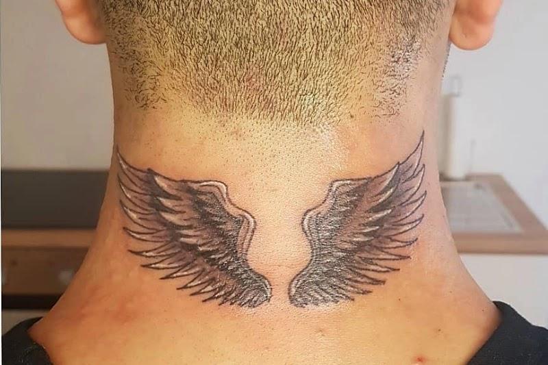 Back Neck tattoo designs