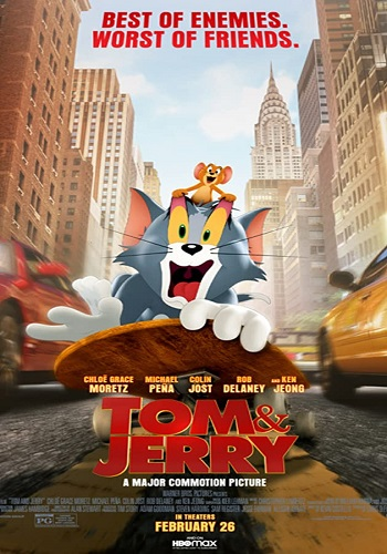 Tom & Jerry The Movie 2021 Hindi Dual Audio HDRip 480p [300MB] 720p [900MB] 1080p