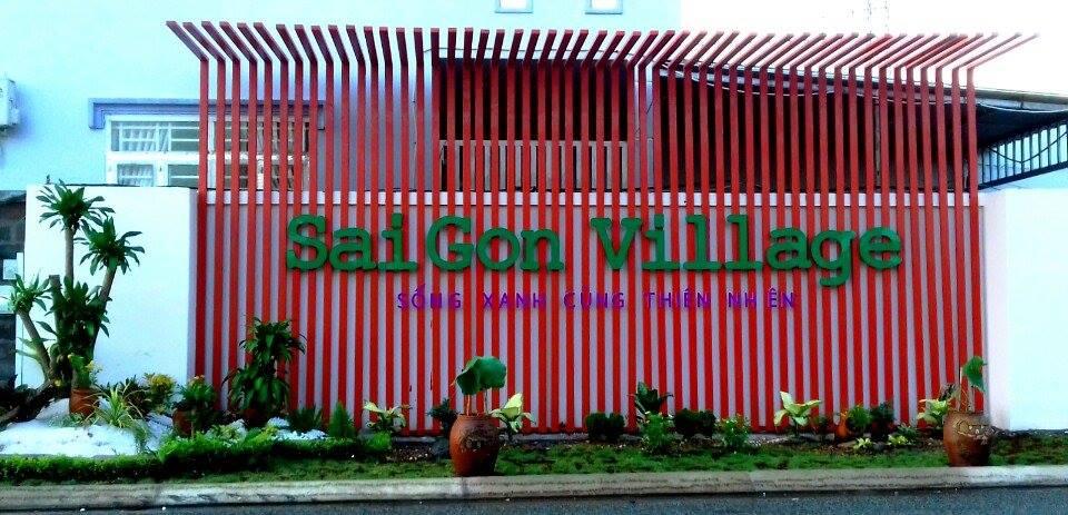Dự án Sài Gòn Village - Sống xanh cùng thiên nhiên