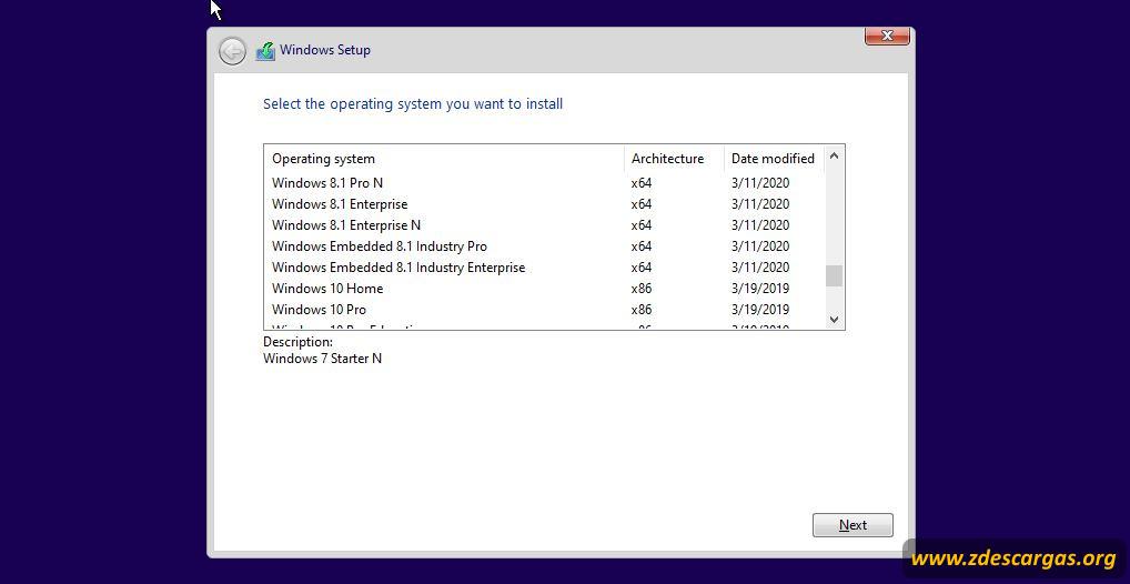 Windows todas las ediciones full español