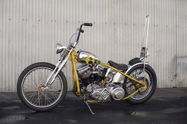 Harley Davidson Panhead By Cycle Zombies Hell Kustom