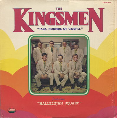 The Kingsmen Quartet-1686 Pounds Of Gospel-