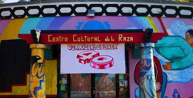 Sobre o centro cultural de La Raza em San Diego