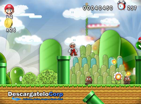 New Super Mario Forever 2015 Juego PC