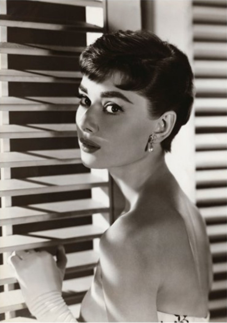 Audrey Hepburn photography exhibition at the National Portrait Gallery, London