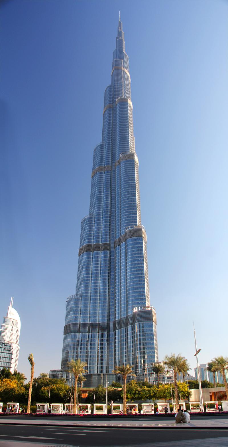 Burj-Khalifa, Dubai (Tallest Building In The World) [16 ...