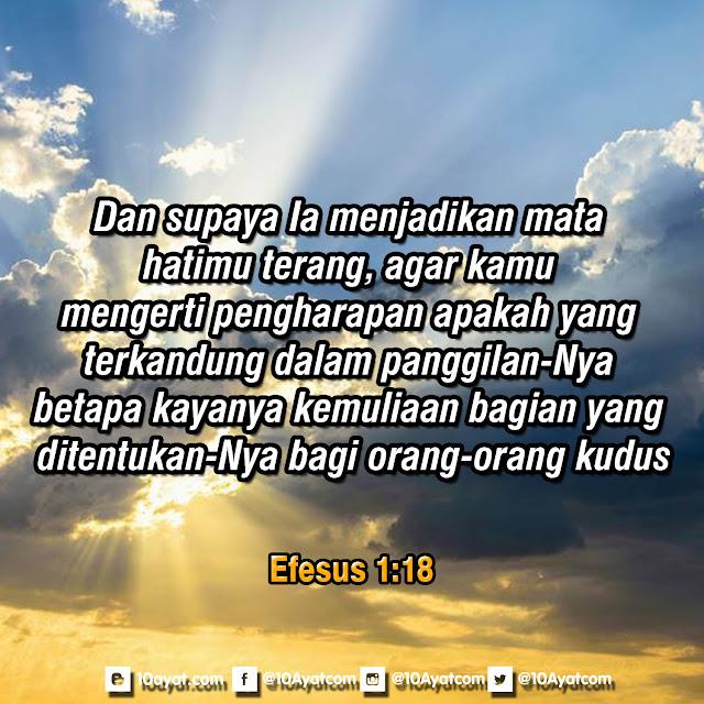Efesus1:18