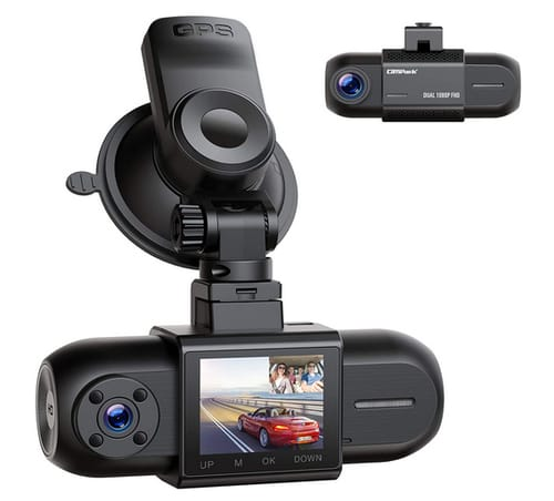 Compark DC35 Dual 1080P Dash Cam Car Camera