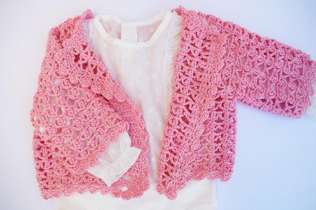 2 - Crochet Chaqueta de verano a crochet y ganchillo por Majovel Crochet