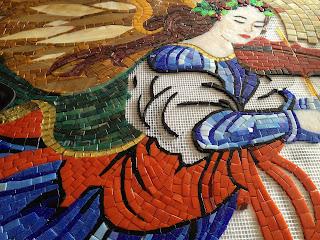 mozaik desen kontürleri