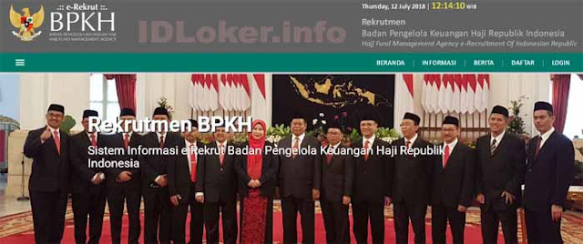 Lowongan Kerja Pegawai Tetap Badan Pengelola Keuangan Haji (BPKH) Terbaru 2018