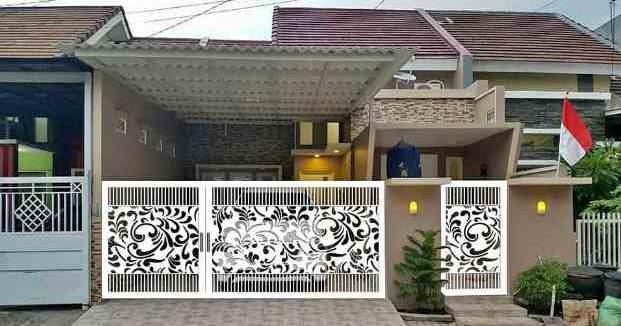 Pagar Rumah Minimalis type 36 Berbagai Model, Desain, dan ...