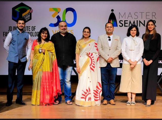 JD Institute of Fashion Technology enhances learning experience through Master Seminar with  Rina Dhaka, Lipika Sud, Harpreet Narula and Saurabh Kaushik