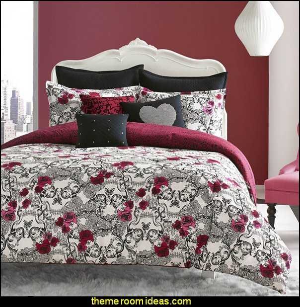 Betsey Johnson Rock Out 3-piece Comforter Set