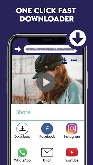 تحميل تطبيق Kraken Browser  تحميل الفيديوهات من مواقع التواصل الاجتماعي