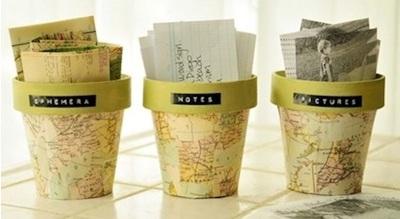 Ephemera pot yang cantik ini bisa dibuat sendiri dengan mudah. Cara kreatif untuk menyimpan benda-benda kecil yang penuh kenangan milikmu.