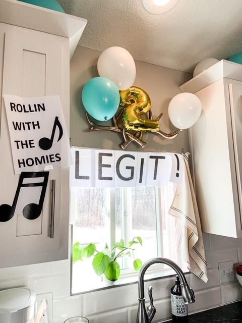 two legit to quit party with printables