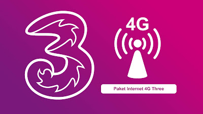 paket internet 4g three